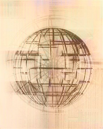 Wire Globe Stock Photo - Rights-Managed, Code: 700-00196821