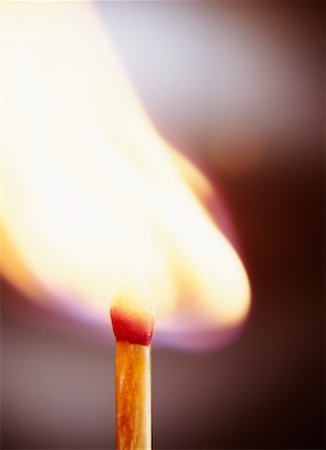 Lit Match Stock Photo - Rights-Managed, Code: 700-00198422
