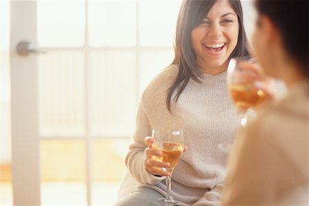 fat italian woman - Women Drinking Wine Stock Photo - Rights-Managed, Code: 700-00193396