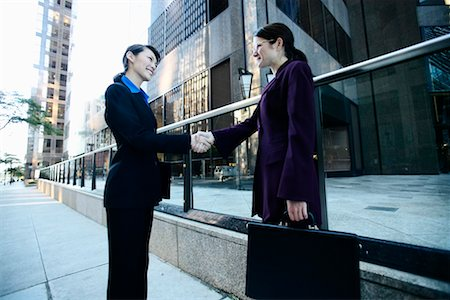 peter griffith - Business Women Shaking Hands Stock Photo - Rights-Managed, Code: 700-00270126