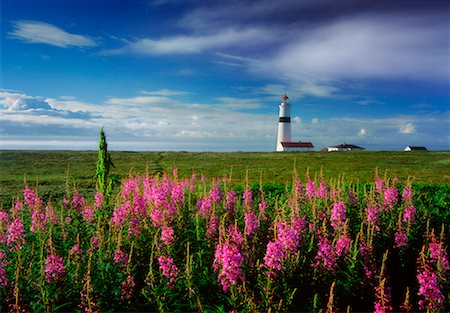 Point Amour Lighthouse Labrador, Canada Stock Photo - Rights-Managed, Code: 700-00270290