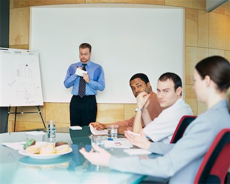 sweaty businessman - Business Meeting Stock Photo - Rights-Managed, Code: 700-00286705