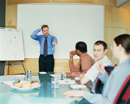 sweaty businessman - Business Meeting Stock Photo - Rights-Managed, Code: 700-00286706