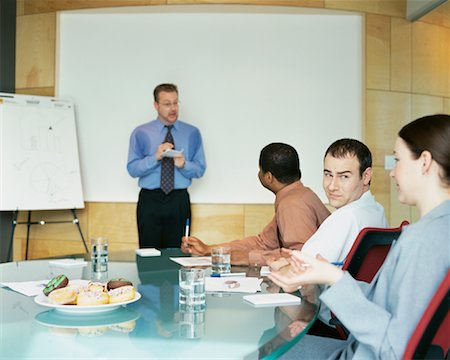sweaty businessman - Business Meeting Stock Photo - Rights-Managed, Code: 700-00286707