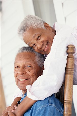 Portrait of Couple Stock Photo - Rights-Managed, Code: 700-00361356