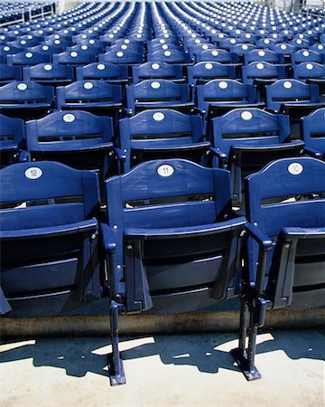 front row seat - Stadium Seating Stock Photo - Rights-Managed, Code: 700-00404240