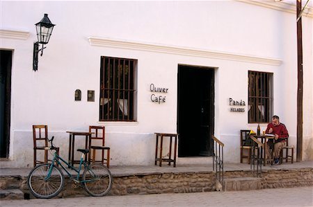Cafe Oliver, Cachi, Salta Province, Argentina Stock Photo - Rights-Managed, Code: 700-00426268
