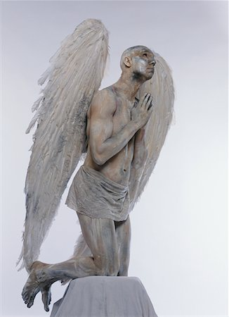 Man Posing as Angel Stock Photo - Rights-Managed, Code: 700-00478491