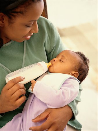 Mother Feeding Baby Stock Photo - Rights-Managed, Code: 700-00515605