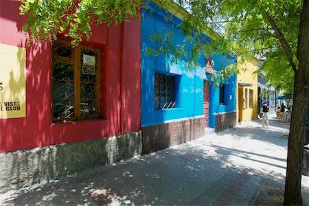 Barrio Bellavista, Santiago, Chile Stock Photo - Rights-Managed, Code: 700-00520176