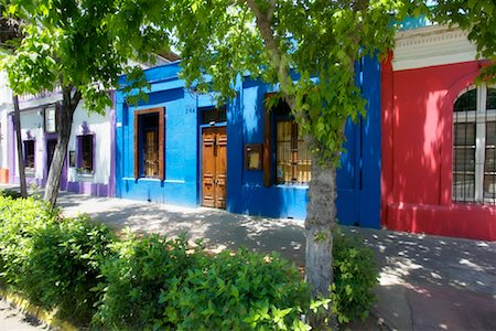 Barrio Bellavista, Santiago, Chile Stock Photo - Rights-Managed, Code: 700-00520177