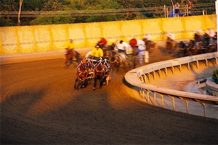 Horse Races at The Calgary Stampede, Calgary, Canada Stock Photo - Rights-Managed, Code: 700-00530244