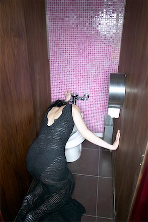 Woman Vomiting Stock Photo - Rights-Managed, Code: 700-00544193