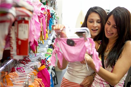 Women Shopping for Bathing Suits Stock Photo - Rights-Managed, Code: 700-00546753