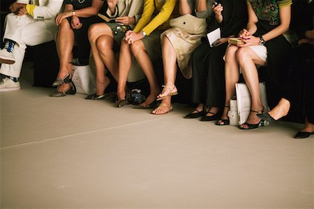 front row seat - Audience of Fashion Show Stock Photo - Rights-Managed, Code: 700-00549660