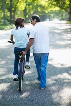 Couple with Bicycle Stock Photo - Rights-Managed, Code: 700-00549948