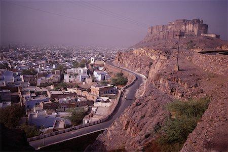 Meherangarh Fort, Jodhpur, Rajasthan, India Stock Photo - Rights-Managed, Code: 700-00554528