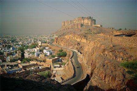Meherangarh Fort, Jodhpur, Rajasthan, India Stock Photo - Rights-Managed, Code: 700-00554529