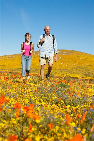 simsearch:600-00846421,k - Father and Daughter Hiking Stock Photo - Rights-Managed, Code: 700-00554646