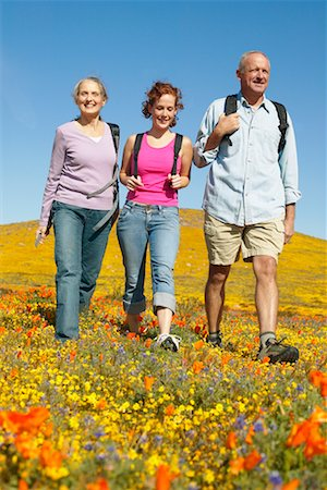 simsearch:600-00846421,k - Family Hiking Stock Photo - Rights-Managed, Code: 700-00554647