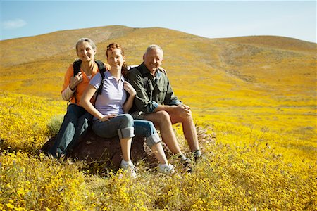 simsearch:600-00846421,k - Portrait of Family Hiking Stock Photo - Rights-Managed, Code: 700-00554642