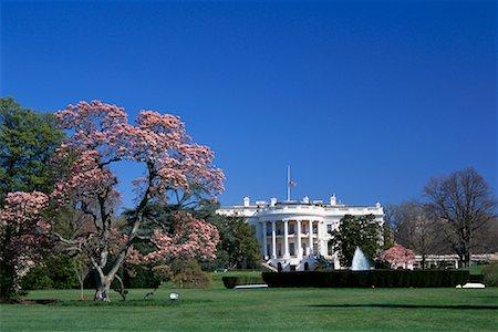 flag at half mast - White House, Washington D.C., USA Stock Photo - Rights-Managed, Code: 700-00555007