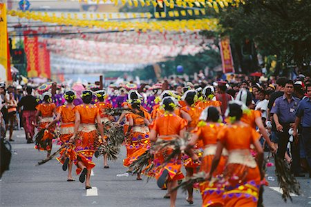 pictures philippine festivals philippines - Parade in Street, Cebu, Philippines Stock Photo - Rights-Managed, Code: 700-00555260