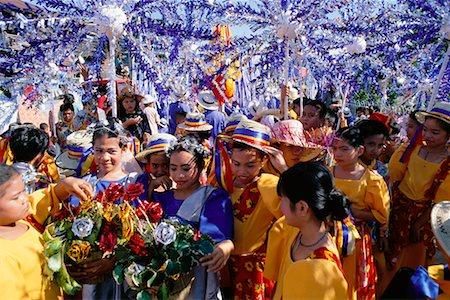 pictures philippine festivals philippines - Children at Festival, Cebu, Philippines Stock Photo - Rights-Managed, Code: 700-00555261
