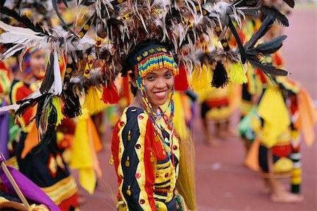 pictures philippine festivals philippines - Woman in Parade with Traditional Costume, Cebu, Philippines Stock Photo - Rights-Managed, Code: 700-00555262