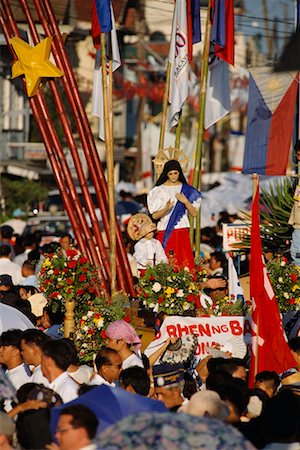 pictures philippine festivals philippines - Crowded Parade, Kawit, Cavite, Philippines Stock Photo - Rights-Managed, Code: 700-00555299
