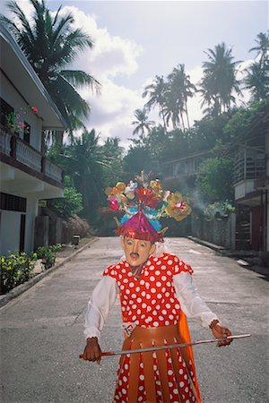 pictures philippine festivals philippines - Person in Costume, Marinduque, Philippines Stock Photo - Rights-Managed, Code: 700-00555308