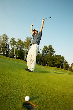 peter griffith - Golfer Putting Stock Photo - Rights-Managed, Code: 700-00550099