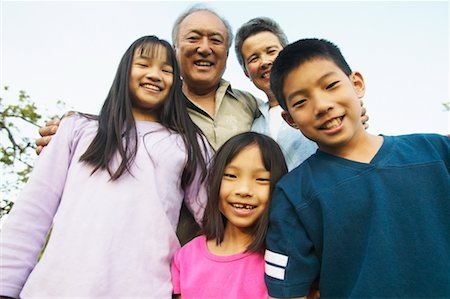 peter griffith - Grandparents and Grandchildren Stock Photo - Rights-Managed, Code: 700-00550599