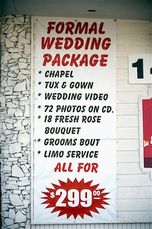 drive thru wedding chapel las vegas nevada usa stock photo rights