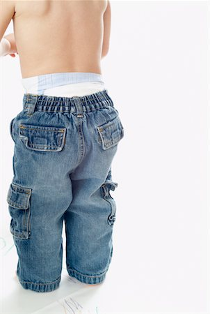 Boy's Backside Stock Photo - Rights-Managed, Code: 700-00560687