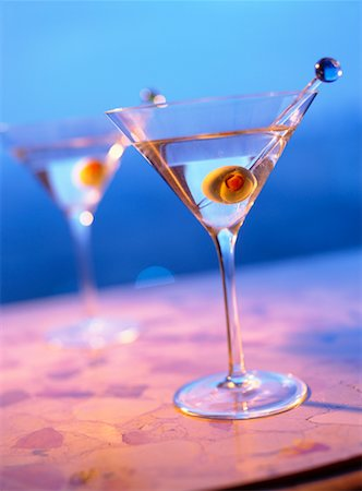 pimento - Martinis Stock Photo - Rights-Managed, Code: 700-00590775