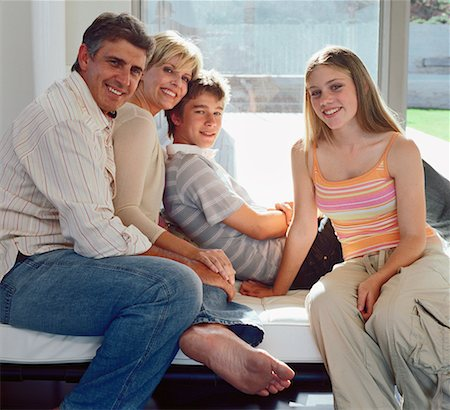 Family Portrait Stock Photo - Rights-Managed, Code: 700-00607167
