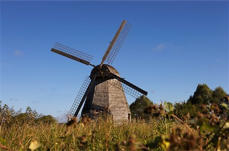 simsearch:600-00954324,k - Windmill in Pioneer Museum, Russia Fotografie stock - Rights-Managed, Codice: 700-00634334