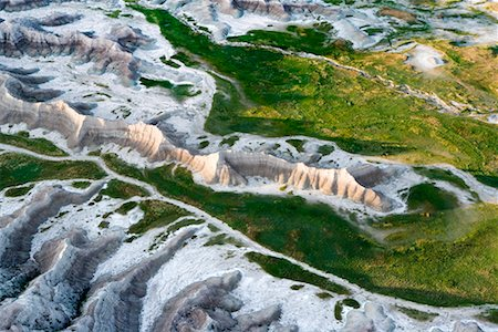 david zimmerman - Aerial View of Badlands National Park, South Dakota, USA Stock Photo - Rights-Managed, Code: 700-00635506
