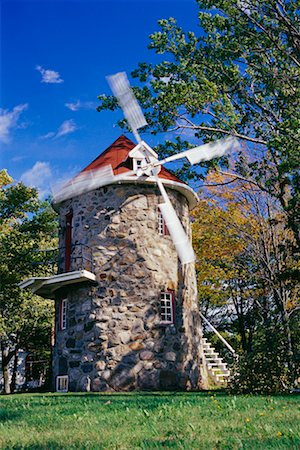 simsearch:600-00954324,k - Windmill, Quebec, Canada Fotografie stock - Rights-Managed, Codice: 700-00635544