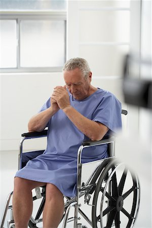 Portrait of Man in Wheelchair Stock Photo - Rights-Managed, Code: 700-00639378