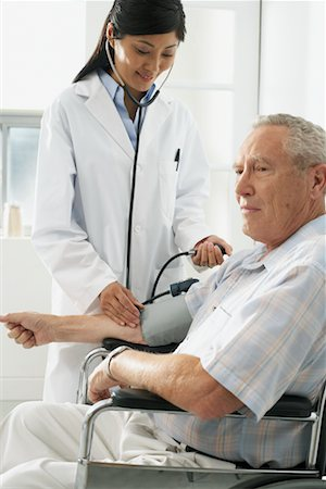 Doctor with Patient Stock Photo - Rights-Managed, Code: 700-00639418