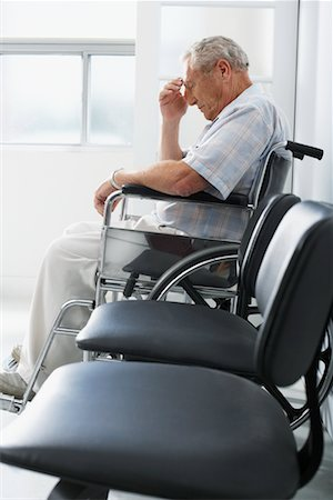 Man in Waiting Room Stock Photo - Rights-Managed, Code: 700-00639426