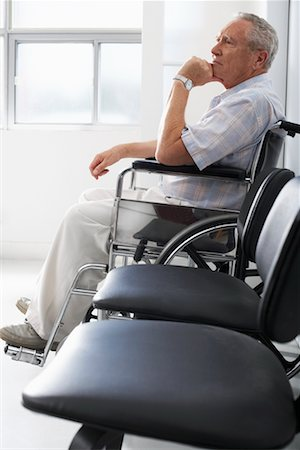 Man in Waiting Room Stock Photo - Rights-Managed, Code: 700-00639427