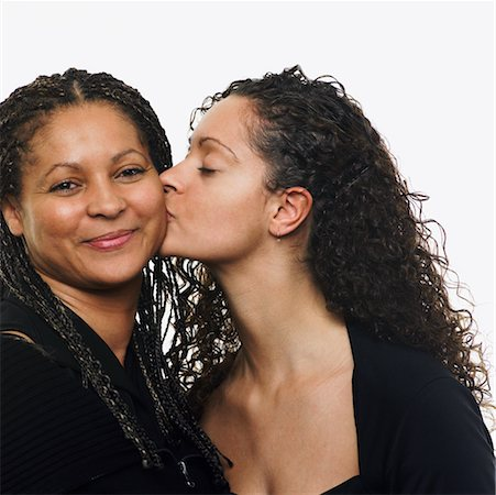 Portrait of Mother and Daughter Stock Photo - Rights-Managed, Code: 700-00651373