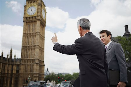 Businessmen Hailing Taxi, London, England Stock Photo - Rights-Managed, Code: 700-00651758