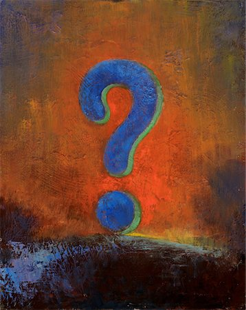 Question Mark Stock Photo - Rights-Managed, Code: 700-00661360