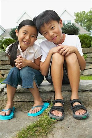 preteen thong - Portrait of Siblings Stock Photo - Rights-Managed, Code: 700-00686867