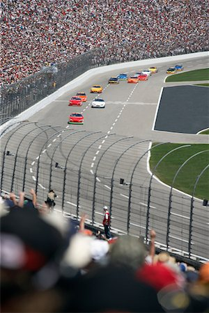 NASCAR Racing at Texas Motor Speedway, Texas, USA Stock Photo - Rights-Managed, Code: 700-00688426