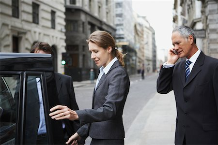 Business People on the Street, London, England Stock Photo - Rights-Managed, Code: 700-00681235